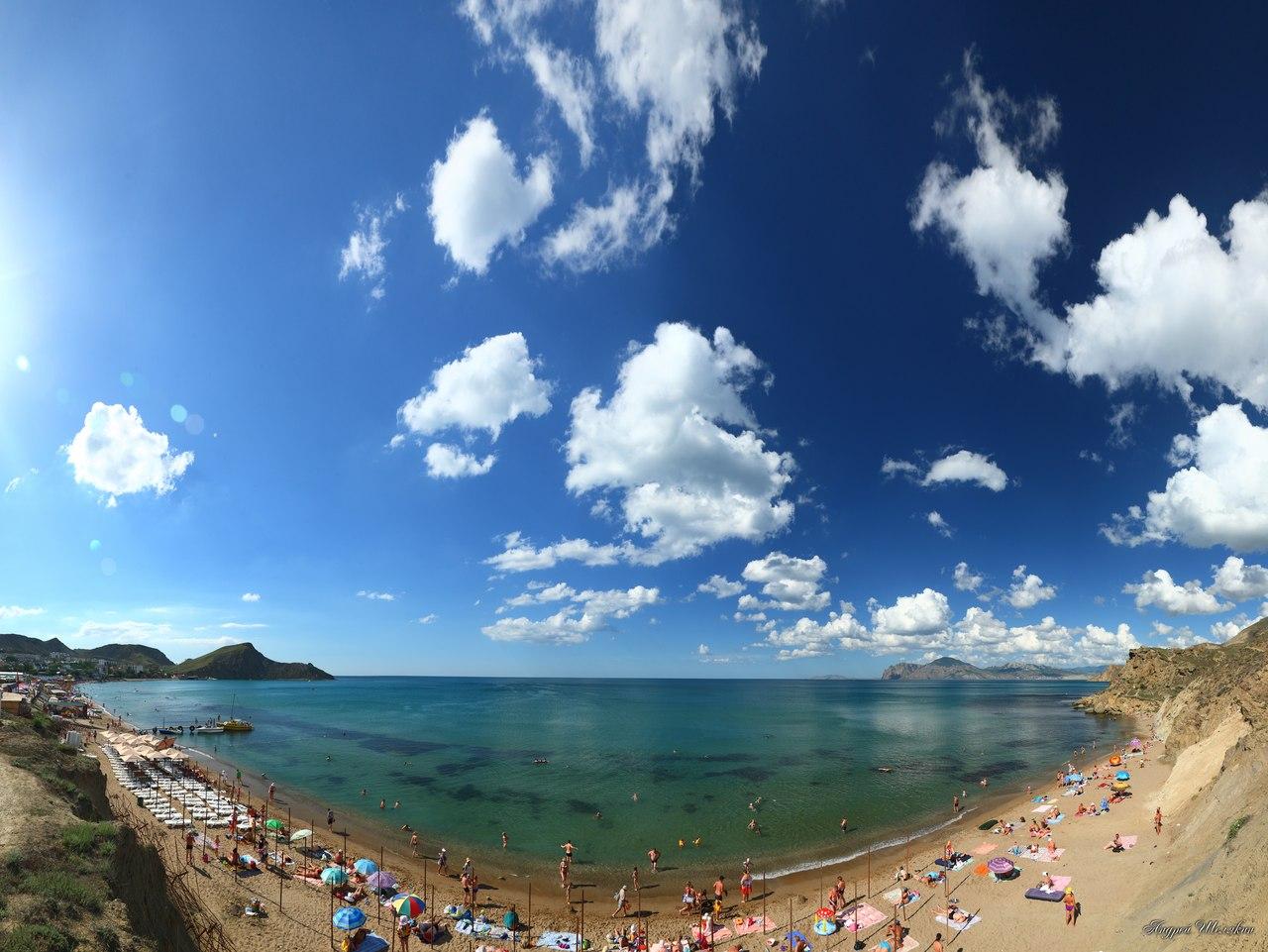 тут вспомнил самые лучшие пляжи крыма отзывы фото праву занимает достойное