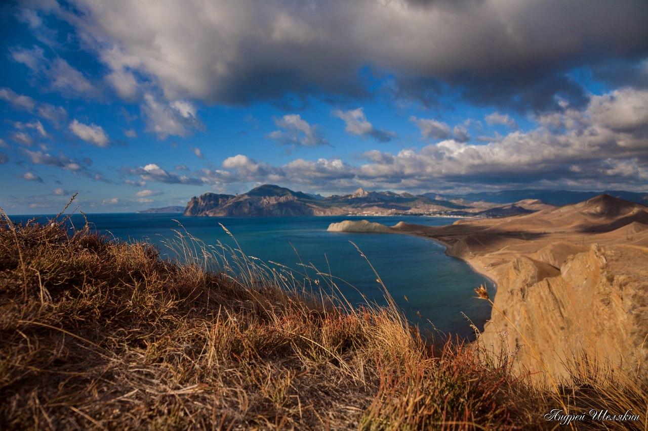 была фото пейзажей крыма с моря старинной частью