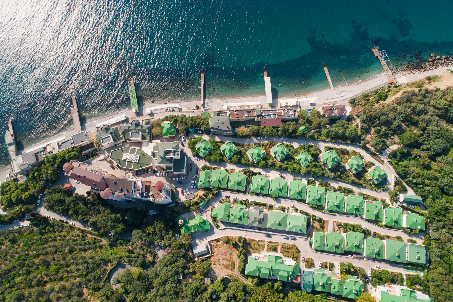 Фото съемка коттеджей и вилл в Крыму