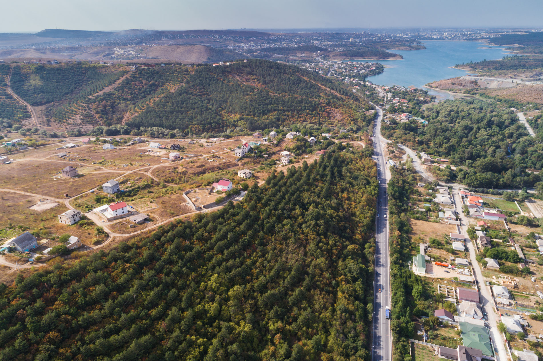 Фотографирование недвижимости с воздуха. Аэрофотосъемка в Крыму