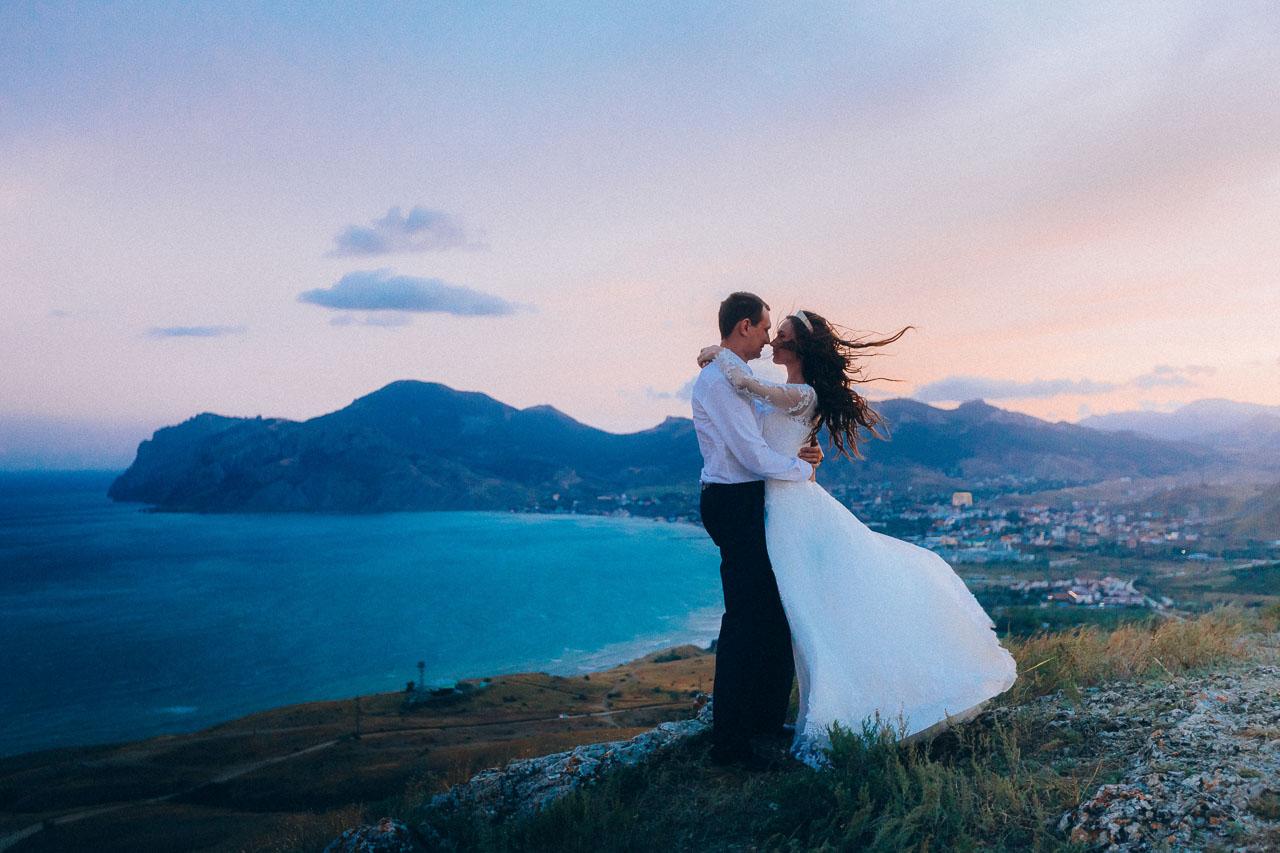 Фотосессии в Крыму. Свадьба для двоих