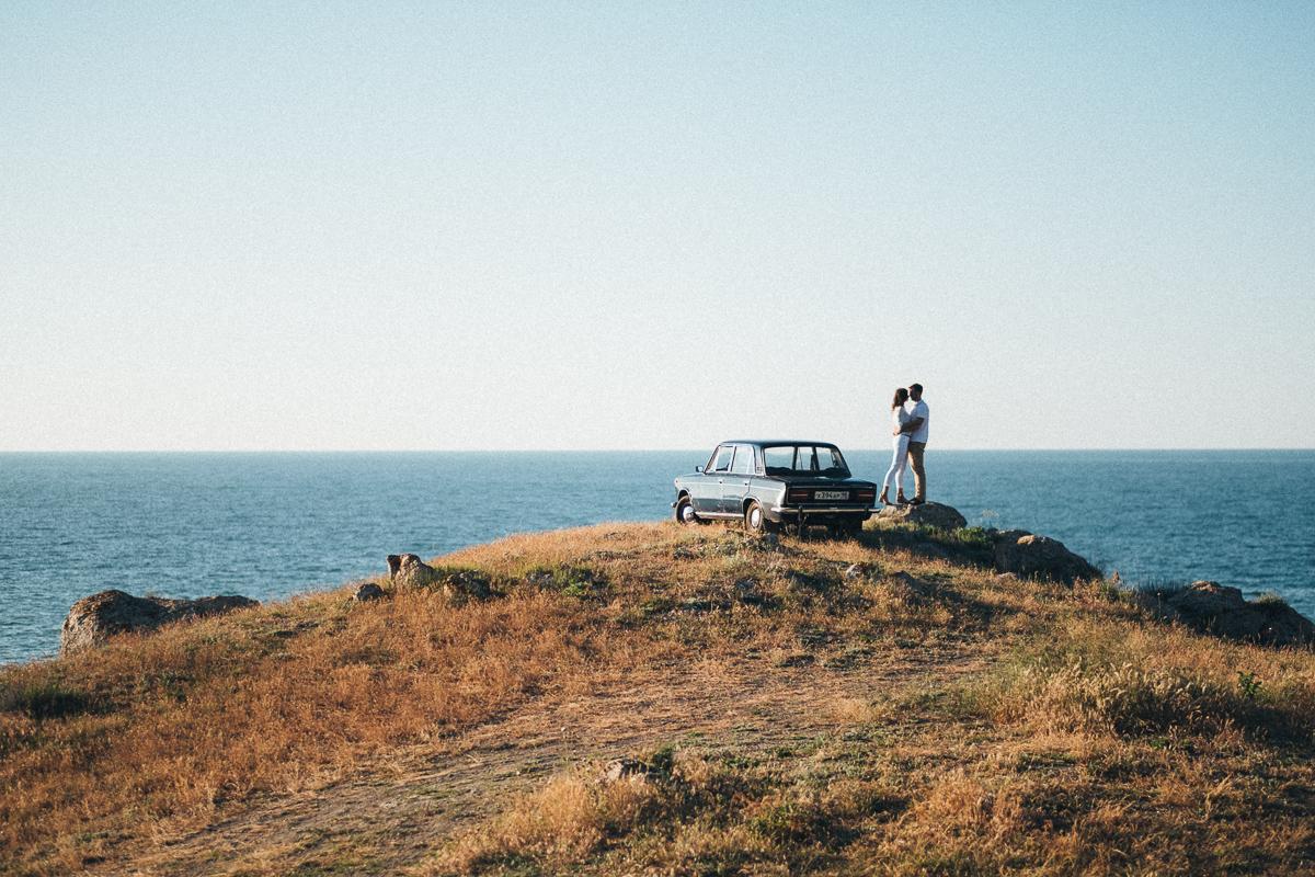 на побережье Генеральских пляжей