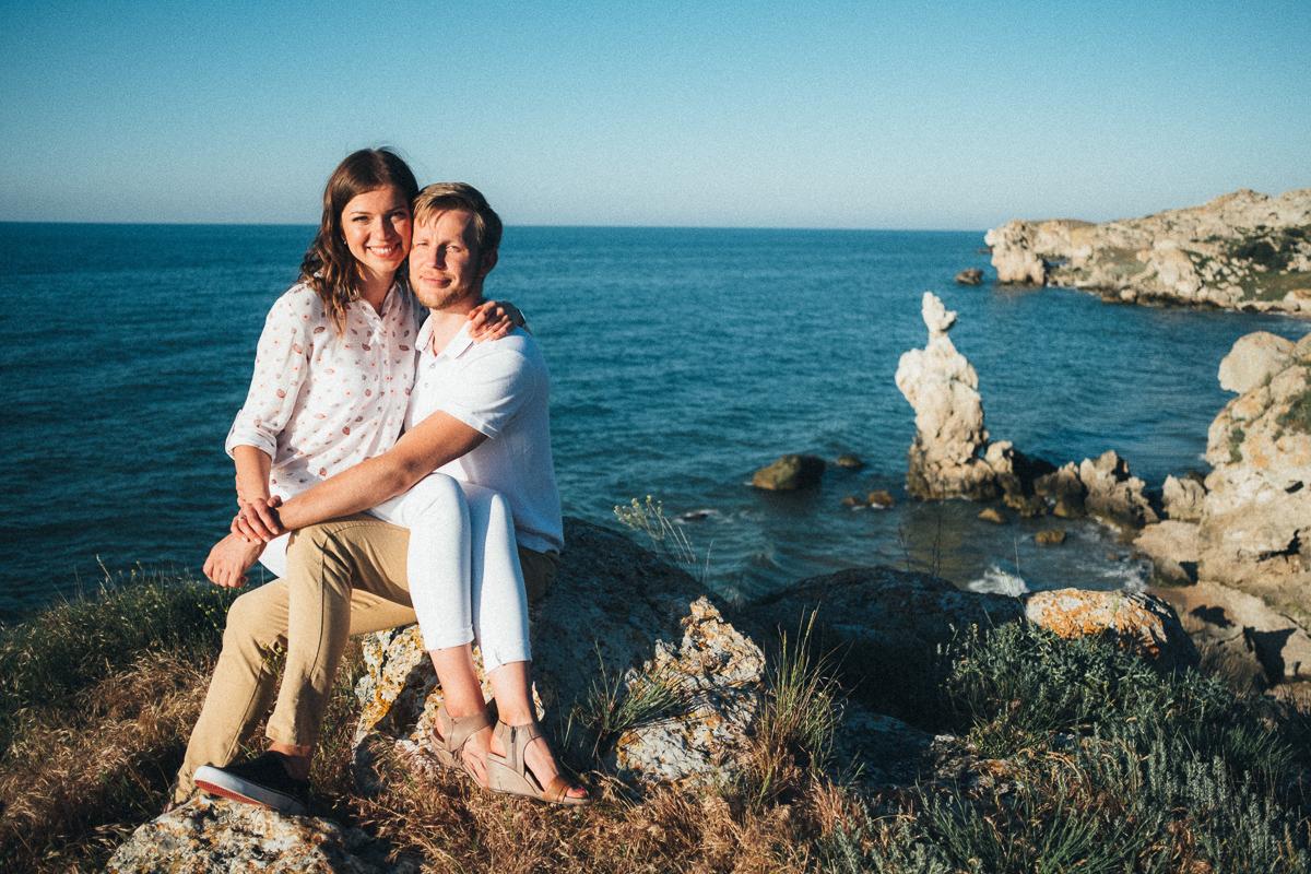 после свадебная фотосессия в Крыму