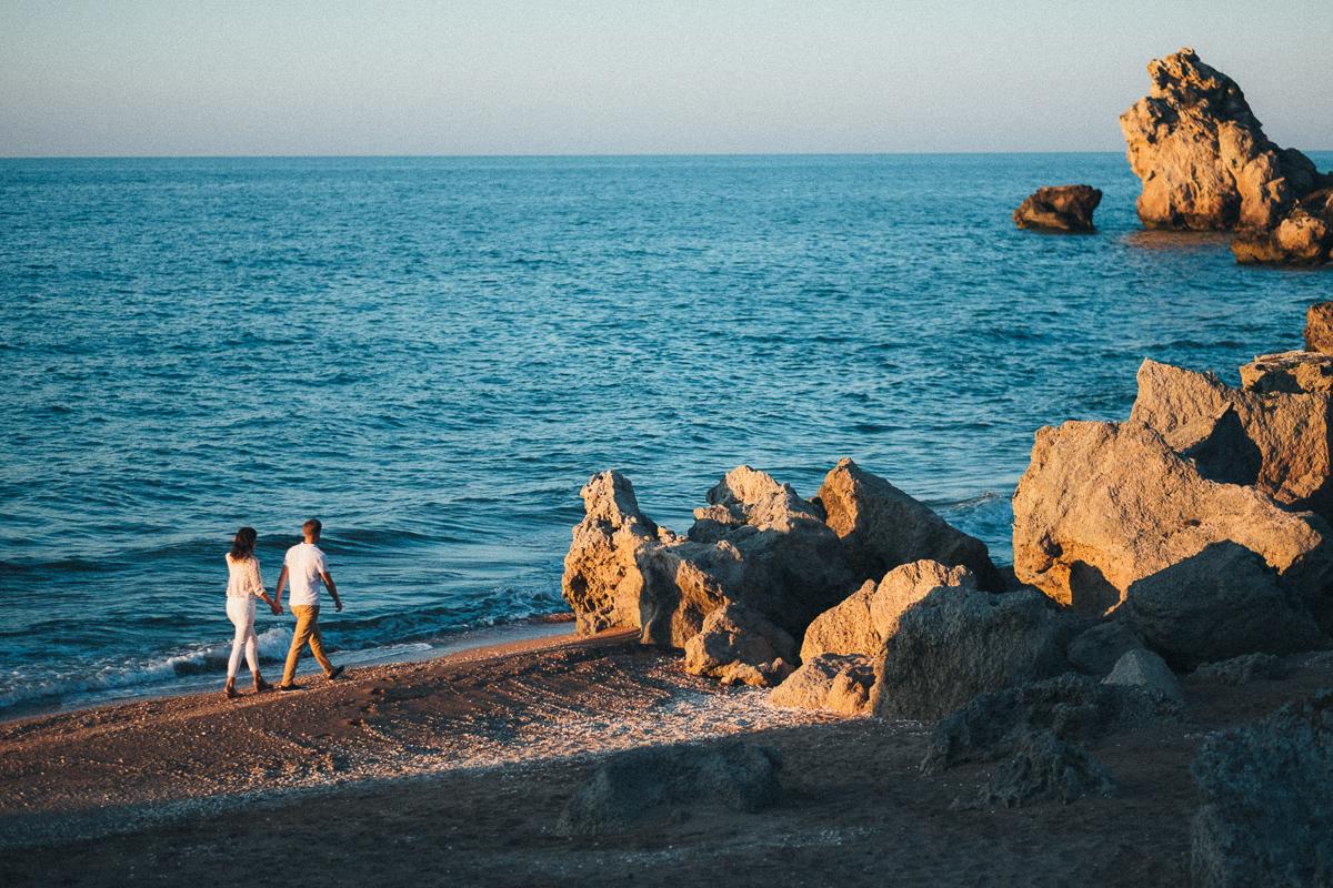 красивый пляж на Азовском побережье Крыма