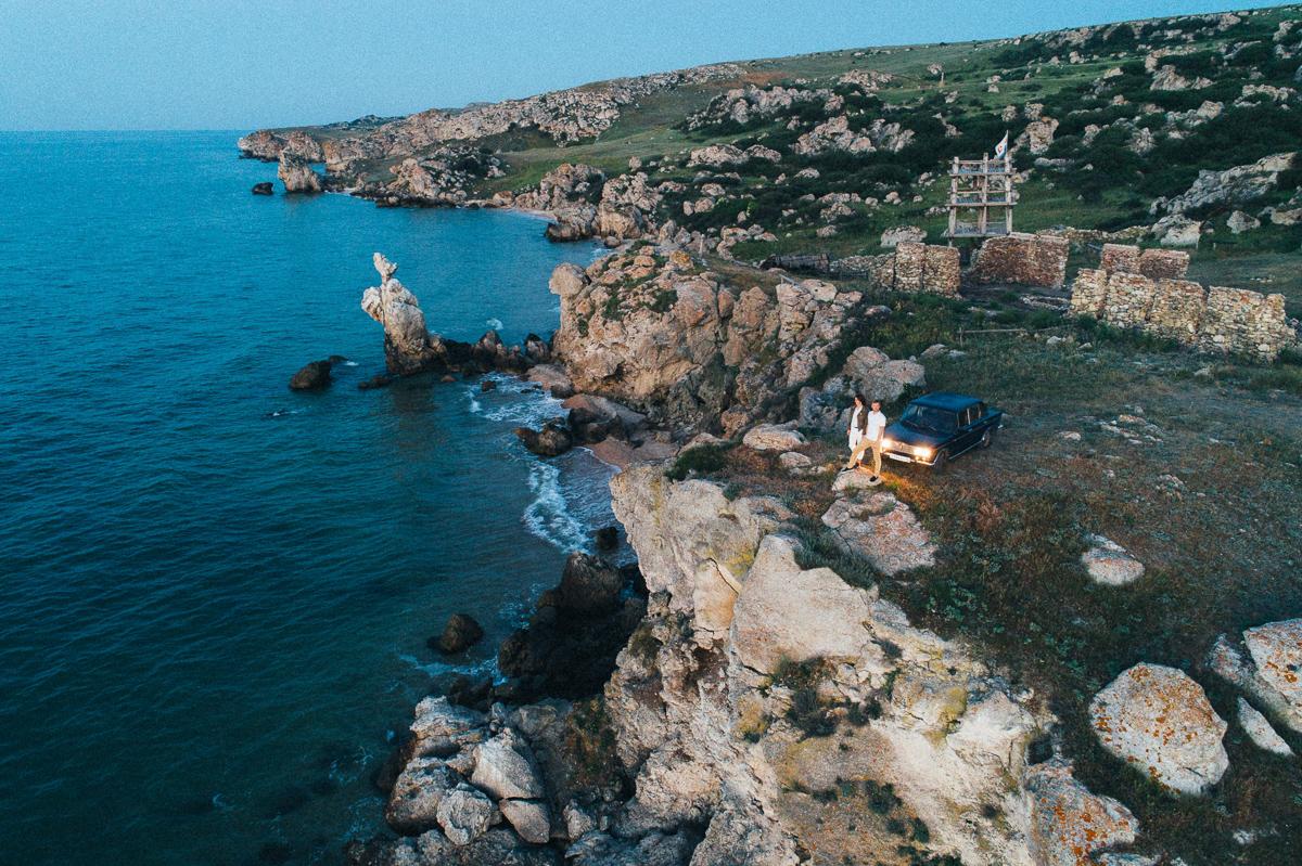 фотосессия медового месяца в Крыму