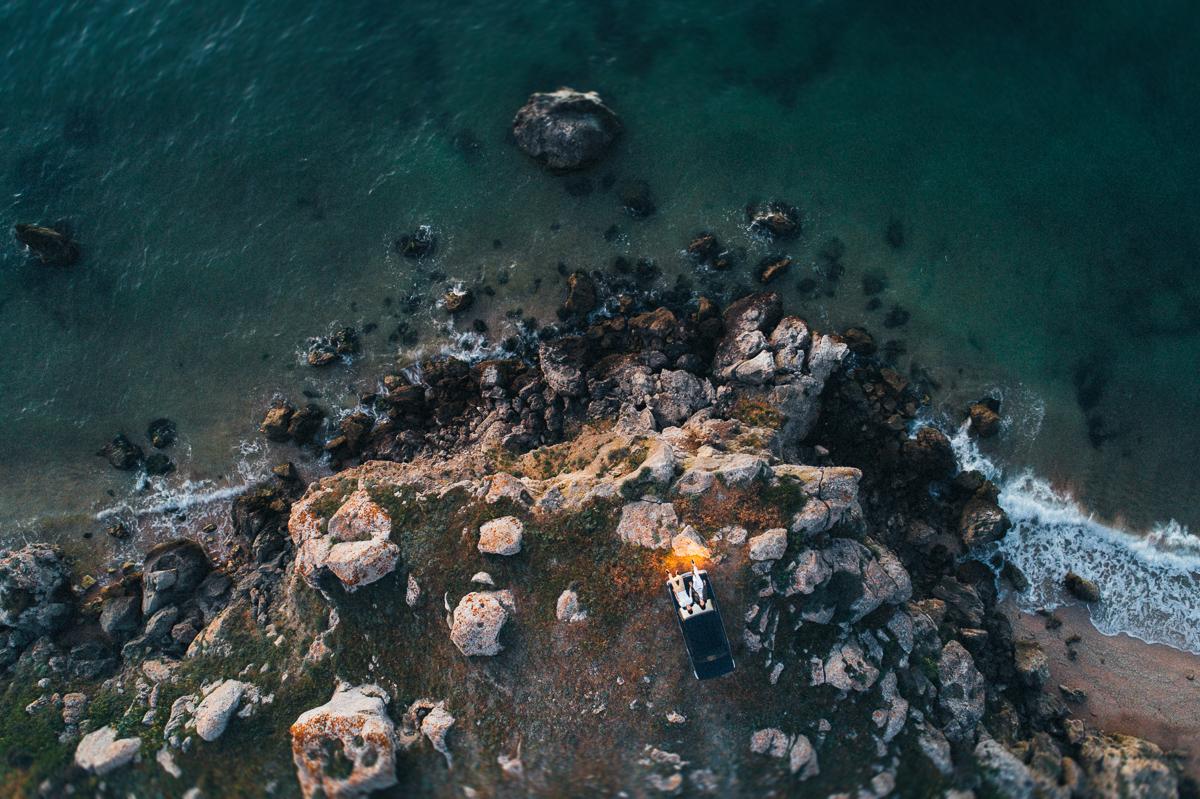 аэро съемка квадрокоптером в Феодосии