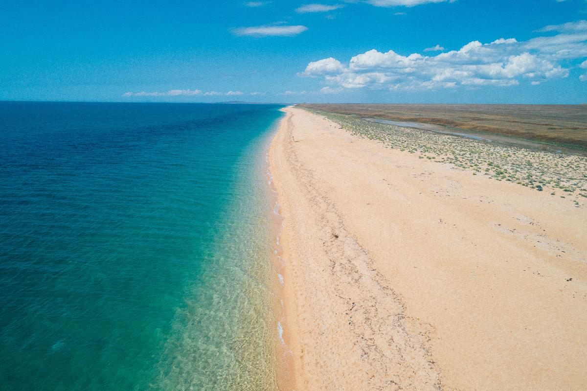 Красивейший пляж в Крыму
