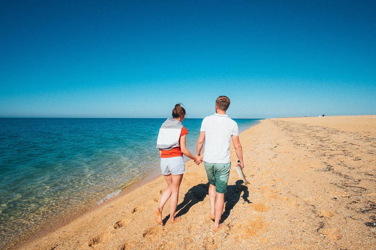 Чистейший пляж в Крыму