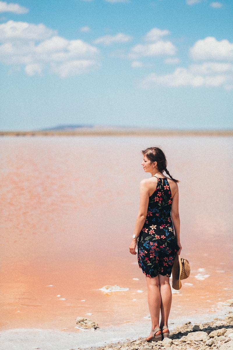 Фото и видео путешествия. Съемка на розовом озере