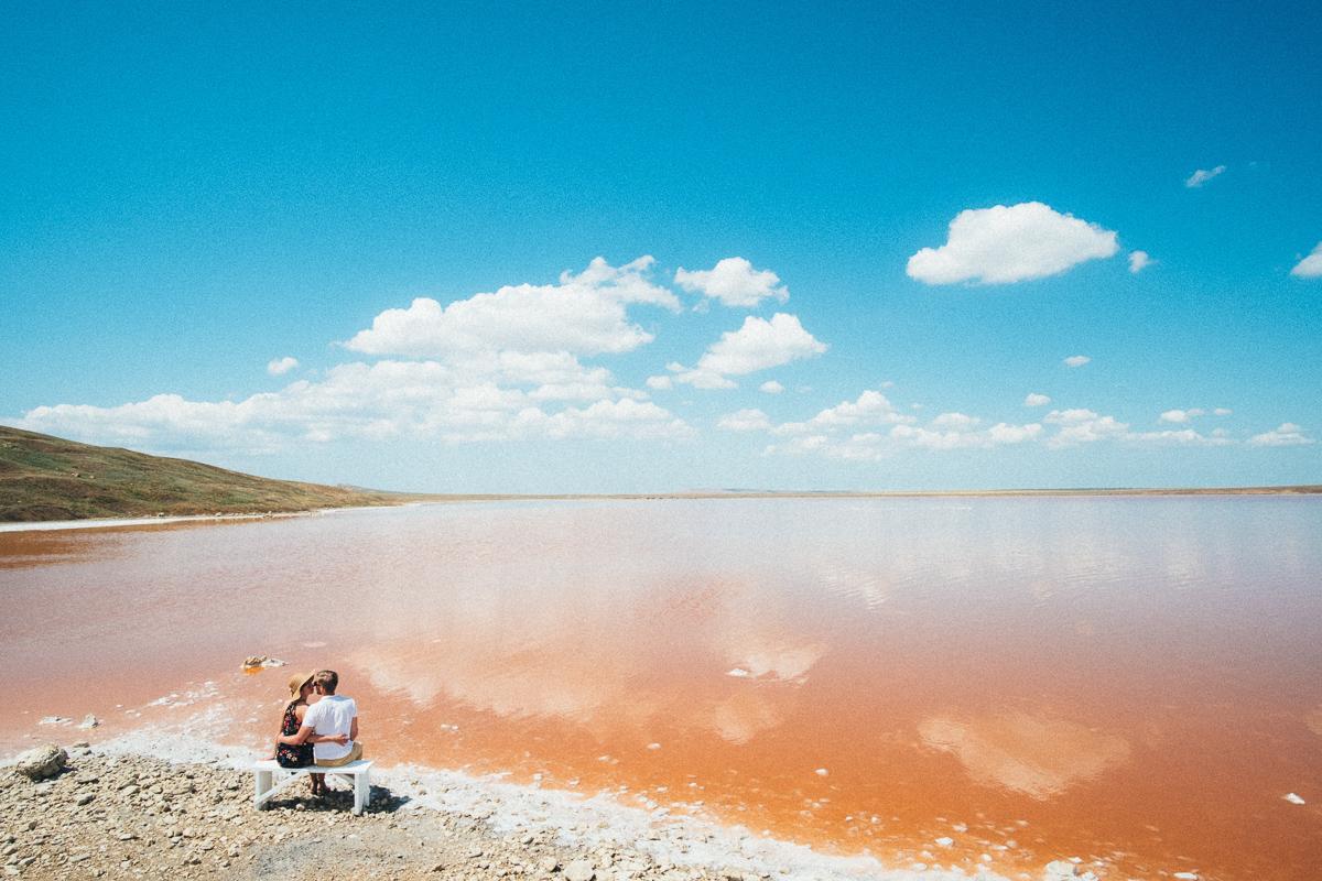 Кояшское озеро в мае
